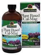 Nature's Answer - Plant-Based Cal-Mag Liquid Vanilla Cream