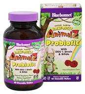 Bluebonnet Nutrition - Super Earth Rainforest Animalz Probiotic