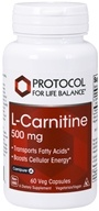 Protocol For Life Balance - L-Carnitine 500 mg.