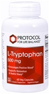 Protocol For Life Balance - L-Tryptophan 500 mg.