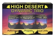 High Desert Dynamic Trio Pollenergy, Propolis, and Royal Jelly