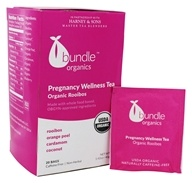 Bundle Organics - Organic Rooibos Pregnancy Wellness Tea - 20 Tea Bags