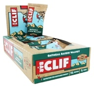 Clif Bar - Organic Energy Bars Box Oatmeal