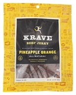 Krave Jerky - Gourmet Beef Jerky Pineapple Orange