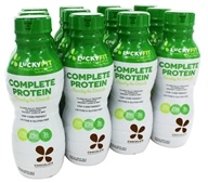 LuckyFit - Complete Protein Ready to Drink Chocolate - 12 Pack