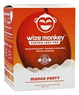 Wize Monkey - Coffee Leaf Tea Mango Party - 15 Sachet(s)