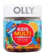 Olly - Kids' Multi + Omega-3 Berry Tangy - 60 Gummies