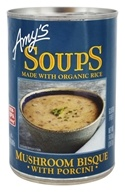 Amy's - Organic Soup Mushroom Bisque with Porcini