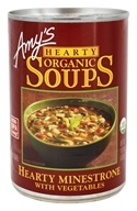 Amy's - Organic Hearty Soup Hearty Minestrone with