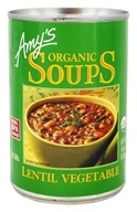 Amy's - Organic Soup Lentil Vegetable - 14.5