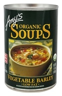 Amy's - Organic Soup Vegetable Barley - 14.1