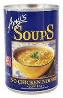 Amy's - Organic Soup No Chicken Noodle -