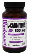 Bluebonnet Nutrition - L-Carnitine 500 mg. - 100