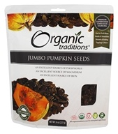 Organic Traditions - Jumbo Pumpkin Seeds - 8