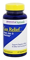 Advanced Naturals - Gas Relief - 60 Vegetable