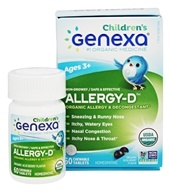 Genexa - Allergy-D Children's Organic Allergy & Decongestant