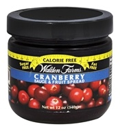 Calorie Free Cranberry Sauce and Fruit Spread