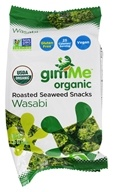 GimMe - Organic Roasted Seaweed Snacks Wasabi -