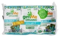 GimMe - Organic Roasted Seaweed Snacks Sea Salt