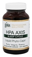 Gaia Herbs Professional - HPA Axis Sleep Cycle - 120 Liquid-Filled Capsules