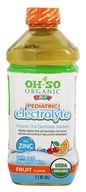 OH-SO - Organic Baby Pediatric Electrolyte Fruit Flavor