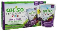 OH-SO - Organic Kids Juice Drink Clearly Grape