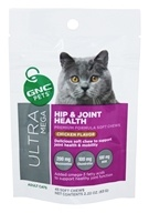 GNC Pets - Ultra Mega Hip & Joint Health For All Cats Yummy Chicken Flavor - 45 Soft Chews