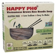 Vietnamese Brown Rice Noodle Soup
