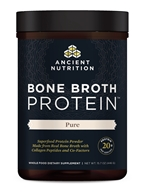 Ancient Nutrition - Bone Broth Protein Pure - 15.7 oz.