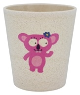 Biodegradable Storage and Rinse Cup Hippo