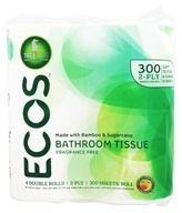 ECOS Bathroom Tissue 2-Ply 300 Sheets