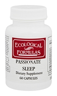 Ecological Formulas - Passionate Sleep - 60 Capsules