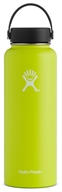 Hydro Flask - Stainless Steel Water Bottle Vacuum Insulated Wide Mouth with Flex Cap Citron - 40 oz.