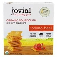Jovial Foods - Organic Sourdough Einkorn Crackers Tomato