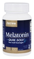 Jarrow Formulas - Melatonin with Quik-Solv Vanilla 300 mcg. - 100 Lozenges