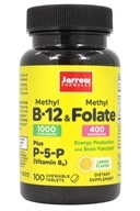 Jarrow Formulas - Methyl B-12 & Methyl Folate