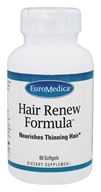 EuroMedica - Hair Renew Formula - 60 Softgels