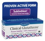 EuroMedica - Clinical Glutathione - 60 Tablets