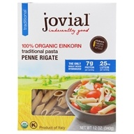 100% Organic Einkorn Traditional Penne Rigate Pasta