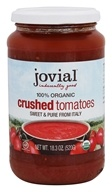 Jovial Foods - Organic Crushed Tomatoes - 18.3
