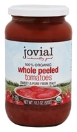 Jovial Foods - Organic Whole Peeled Tomatoes -