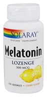 Solaray - Melatonin Lemon 500 mcg. - 120