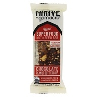 GoMacro - Organic Thrive Bar Chocolate Peanut Butter