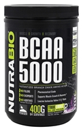 NutraBio - BCAA 5000 Grape - 400 Grams