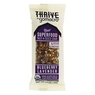 GoMacro - Organic Thrive Bar Blueberry Lavender -