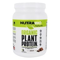 NutraBio - Organic Plant Protein Chocolate - 1