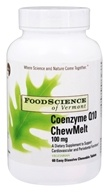 FoodScience of Vermont - Coenzyme Q10 ChewMelt 100