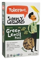 Tolerant - Organic Simply Legumes Green Lentil Penne