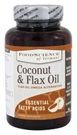FoodScience of Vermont - Coconut & Flax Oil