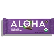 Aloha - Protein Bar Chocolate Fudge Brownie -
